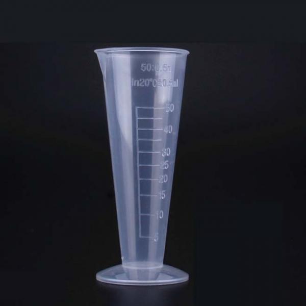 Bécher Gradué Plastique Conique