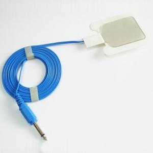 ESU Plaque Câble, Monopôle, 6.3mm