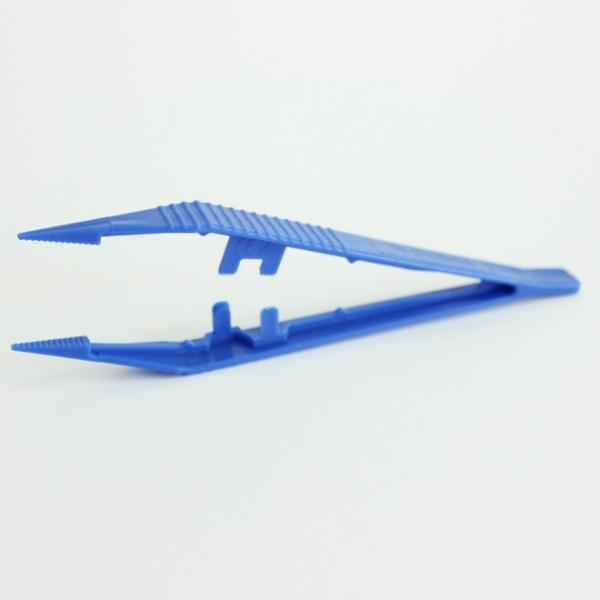 Pince Anatomique Fine Plastique à usage unique 12,5cm