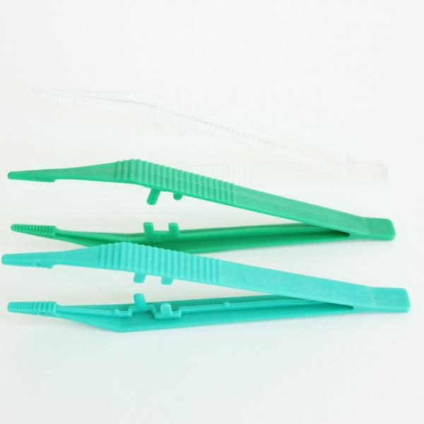 Pince Anatomique Plastique à usage unique 12,5cm